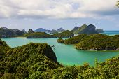 picture of thong  - Ang Thong National Marine Park and Green sea Thailand - JPG