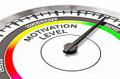 pic of motivation  - Motivation level concept  - JPG