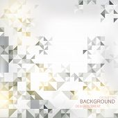 picture of prospectus  - abstract background with elements of geometric figures - JPG