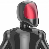 image of fi  - Cyborg futuristic artificial model robot sci - JPG