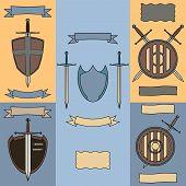 image of longsword  - Vector illustration - JPG