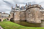 foto of chateau  - Chateau des Ducs de Bretagne in Nantes France - JPG