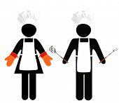 Cooks Symbol-People poster