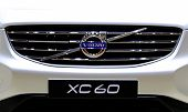 Постер, плакат: Logo Of Volvo Series Xc60 On Bumper