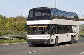 stock photo of motor coach  - lucury motor - JPG
