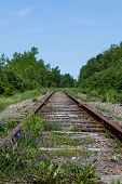 ������, ������: Old Railway Tracks In Cape Breton Nova Scotia