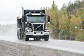 pic of dump-truck  - taken on highway17 west just west of sudbury - JPG