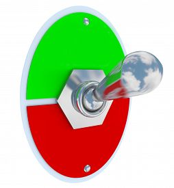 picture of levers  - Blank toggle switch or lever for flipping on and off - JPG