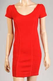 picture of dress mannequin  - Red Dress Female Mannequin Isolated On Gray Background - JPG