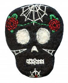 picture of day dead skull  - Sugar skull - JPG