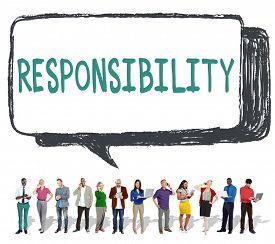 pic of trustworthiness  - Responsibility Duty Obligation Job Trustworthy Concept - JPG