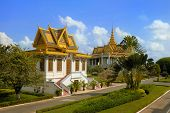 Scene in the Royal palace, Phnom Penh,Cambodia
