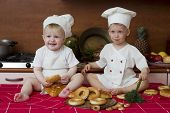 Two Little Cooks poster