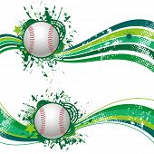 baseball design element