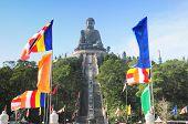 stock photo of lantau island  - Tian Tan Buddha  - JPG