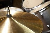 stock photo of drum-set  - hi - JPG