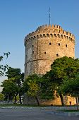 White Tower of Thessaloniki. Greece.