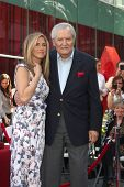 LOS ANGELES - FEB 22:  Jennifer Aniston; John Aniston at the Jennifer Aniston Hollywood Walk of Fame