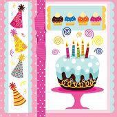 picture of birthday party  - Birthday Party Elements - JPG
