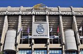 Madrid, Spain-september 30:santiago Bernabeu Stadium Of Real Madrid On September 30, 2012 In Madrid,