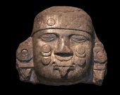 image of aztec  - Head of Coyolxauhqui - JPG