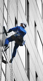 pic of high-rise  - High rise window cleaner on the job taken in Japan - JPG