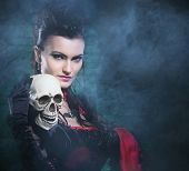 image of gothic female  - Beautiful - JPG