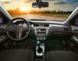 stock photo of designated driver  - Travel in car - JPG