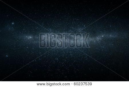 Milkyway Starfield poster