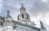 Steeple of Quito's Cathedral