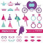 pic of princess crown  - Princess Party set  - JPG