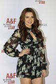 LOS ANGELES - FEB 22: Katie Stevens at the Abercrombie & Fitch 'The Making of a Star' Spring Campaig