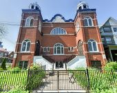 foto of synagogue  - The Kiever Synagogue a Modern Orthodox Jewish synagogue in Toronto Canada. It was founded by Jewish immigrants from the Ukraine in 1912 and formally incorporated in 1914.