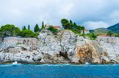 Постер, плакат: The Slopes Of Sveti Stefan