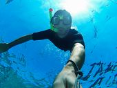 foto of spearfishing  - Freediving - JPG