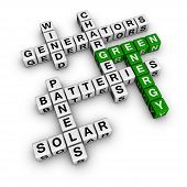 foto of scrabble  - Alternative Green Energy  - JPG