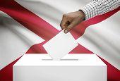 stock photo of alabama  - Voting concept  - JPG