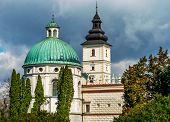 image of castle  - Grand Castle in Poland Europe - JPG