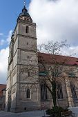foto of holy-spirit  - The Church of the Holy Spirit in German referred as the Stadtkirche Heilig Dreifaltigkeit is located in the historic area of the city of Bayreuth and was re - JPG