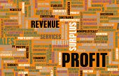 foto of profit  - Profit in a Business and Economic Sense as Art - JPG