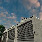 picture of self-storage  - self storage units cool modern concrete units - JPG