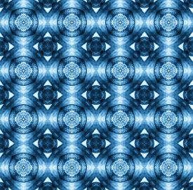 stock photo of parallelepiped  - background pattern made from piece of flower in modern style created from filter technique - JPG