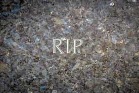stock photo of chisel  - Rest In Peace  - JPG