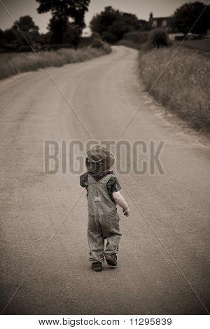 A Boy Walking Away From A Girl sad girl walking away from boy Lonely Boy Walking Alone ...
