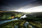 pic of cree  - Loch Trool is a body of water in Galloway, south-west Scotland lying in the valley of Glen Trool. It is the source of the Water of Trool which flows to the Water of Minnoch and the Cree.