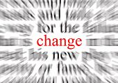 stock photo of veer  - a conceptual image representing a focus on change - JPG