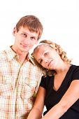 young domestic pair poster