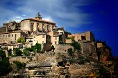 Ancient Medieval Hilltop Town Of Gordes In France 7 poster