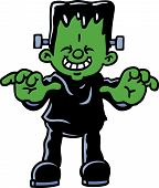 picture of frankenstein  - A boy - JPG