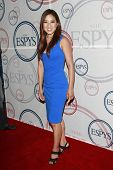 LOS ANGELES - JULY  15: Michelle Kwan at the 2008 ESPYs Giant Event in downtown Los Angeles, Califor